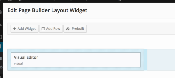 The layout widget makes sub layouts possible.