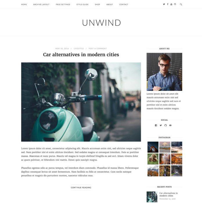Unwind documentation siteorigin for Read unwind online free