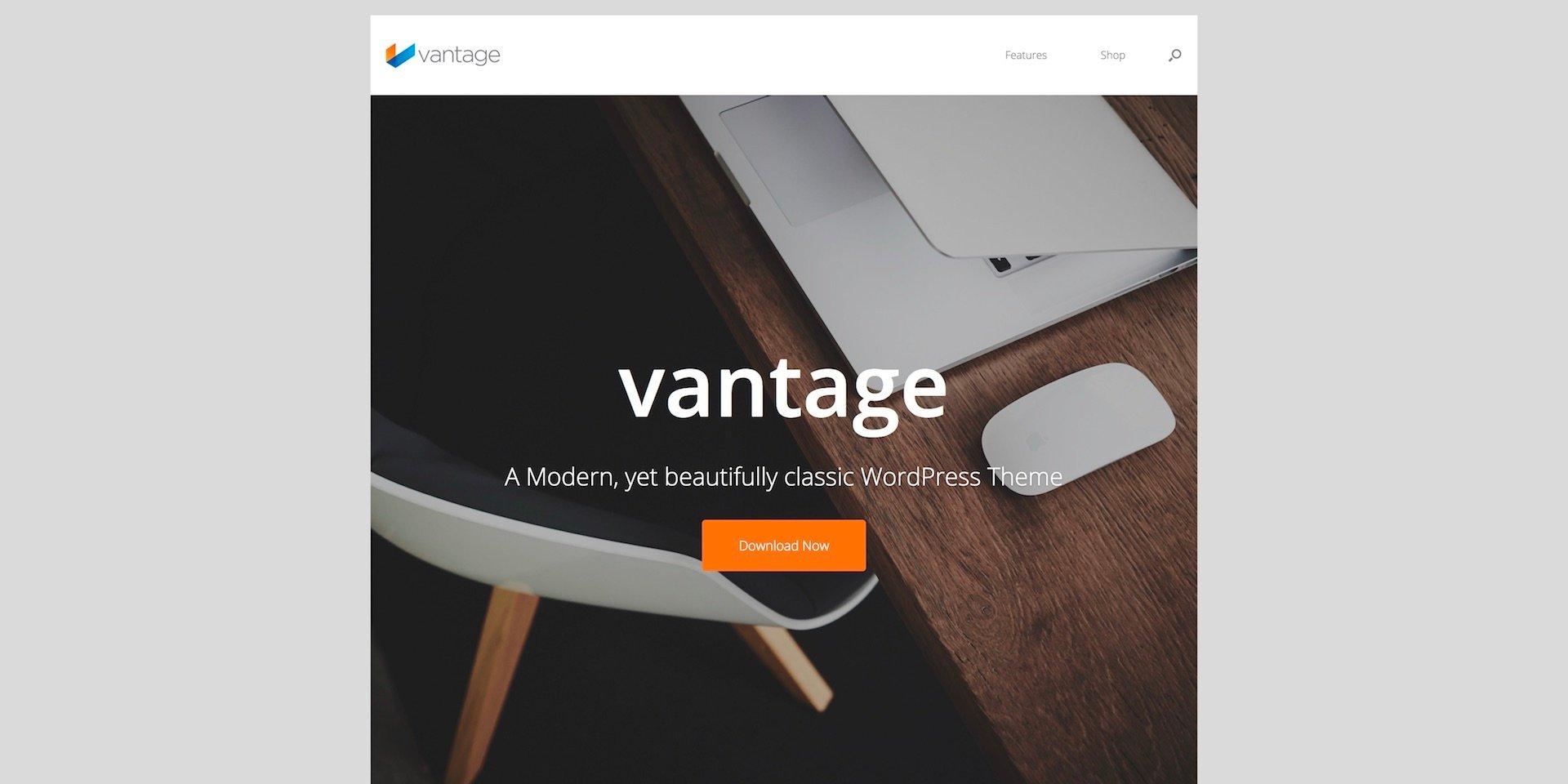 Vantage WordPress Theme - SiteOrigin
