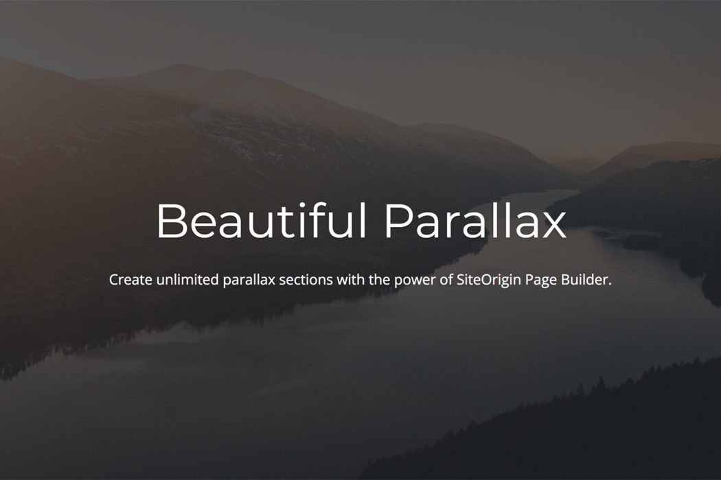 The Differences Between Fixed Vs Parallax Background Images SiteOrigin
