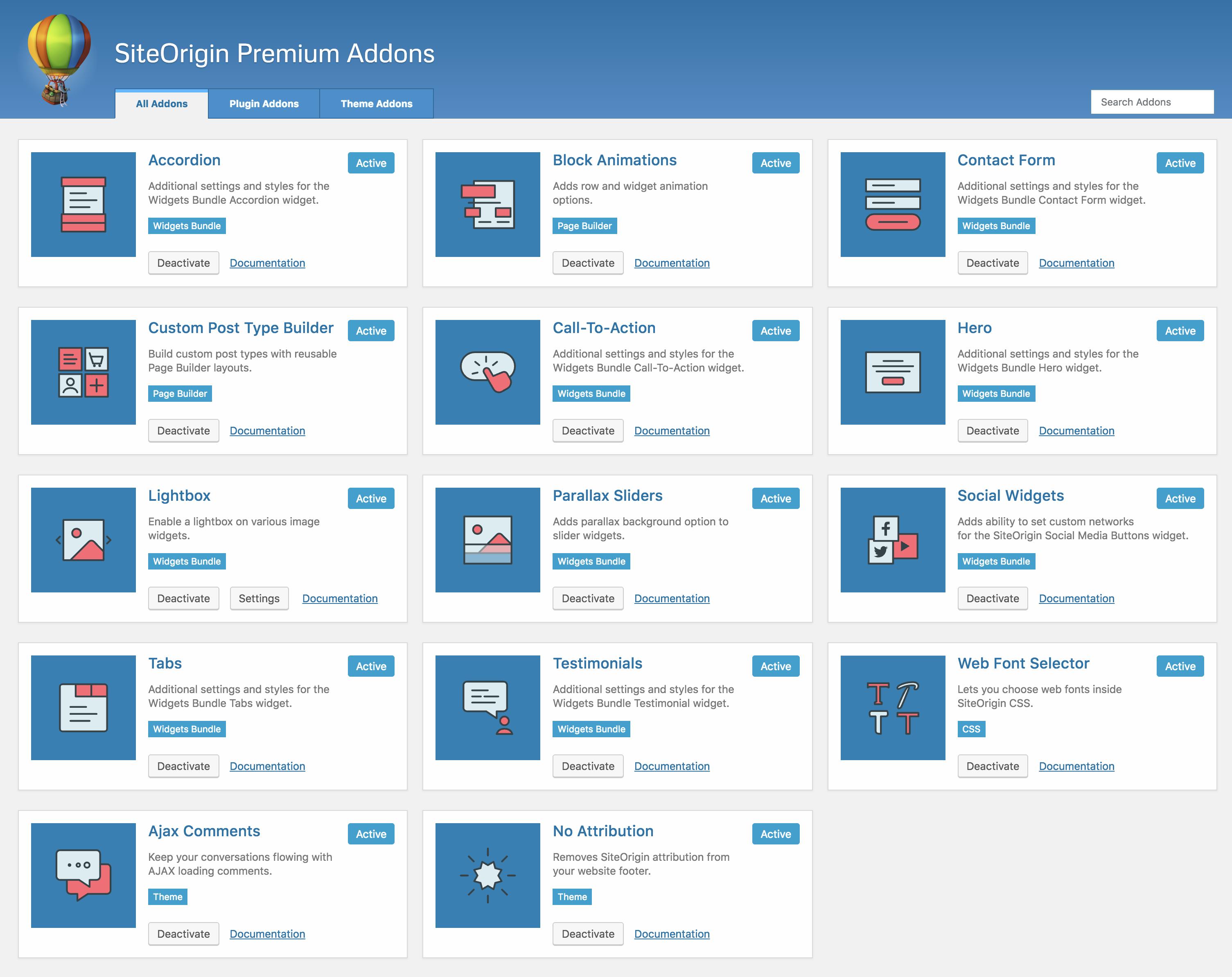 Unwind WordPress Theme - SiteOrigin