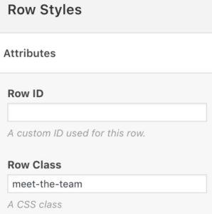 Create a Team Page with the SiteOrigin Features Widget - SiteOrigin